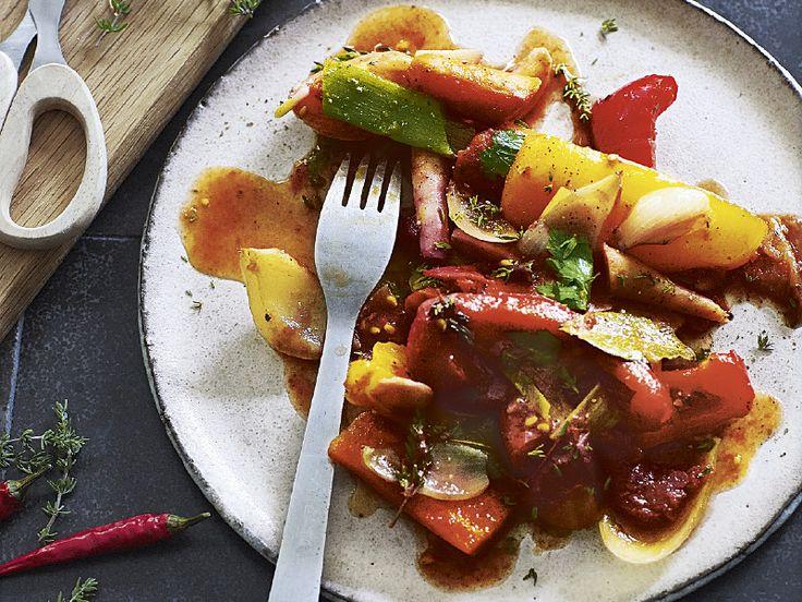 Schmorgemüse mit Rotwein (S&K 10/2016) : das Rezeptportal von naturkost.de - bio, vollwertig, vegetarisch