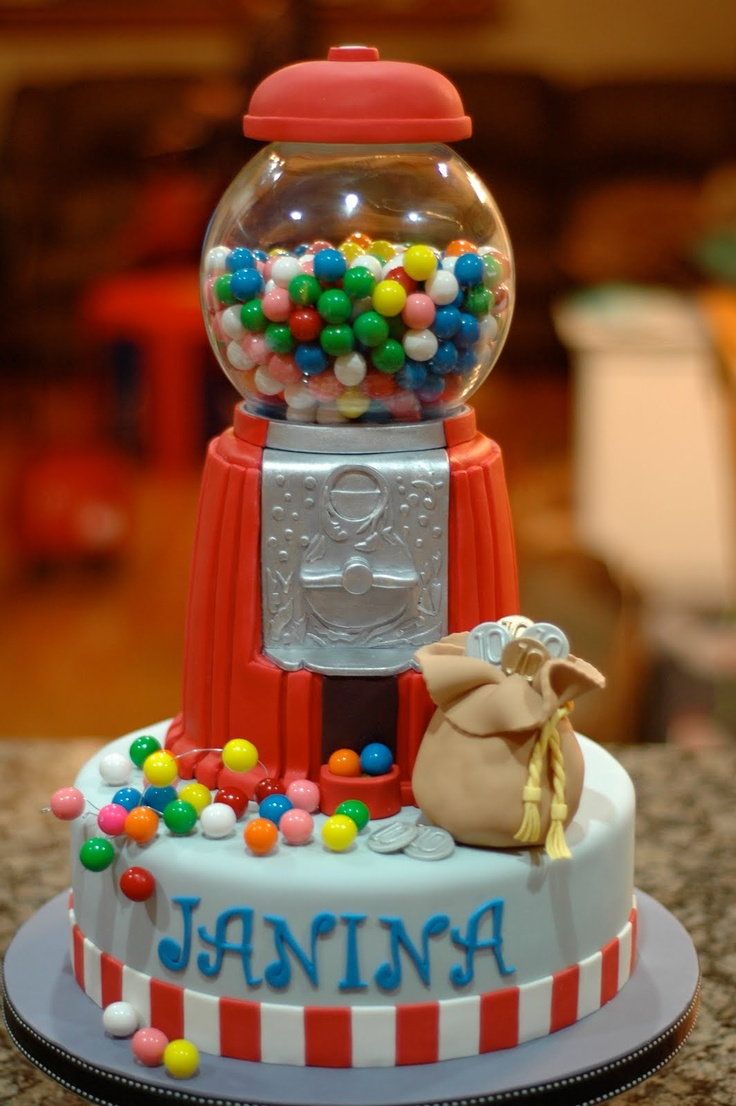 Bubblegum Cakes Pictures