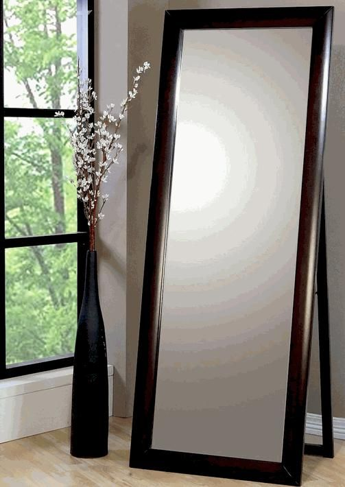20 ide Large floor mirrors terbaik di Pinterest