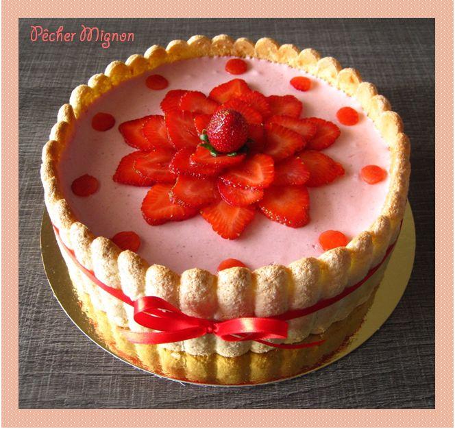 120 best images about desserts aux fraises on pinterest. Black Bedroom Furniture Sets. Home Design Ideas