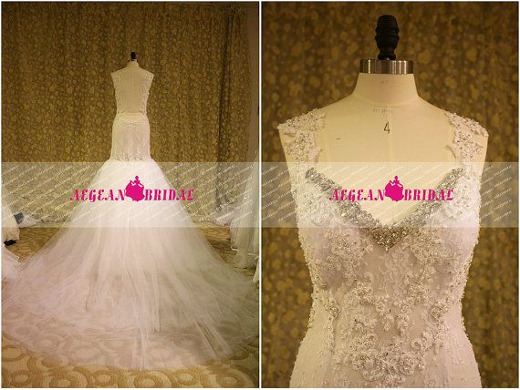Hey, I found this really awesome Etsy listing at https://www.etsy.com/listing/196562152/rw280-lace-wedding-dress-with-beading