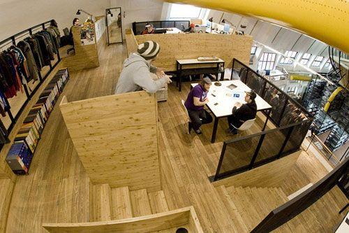 wodden office