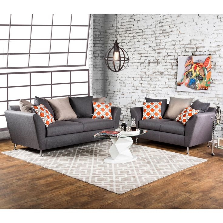 Elegant Furniture of America Grainger Piece Sofa Set IDF PC