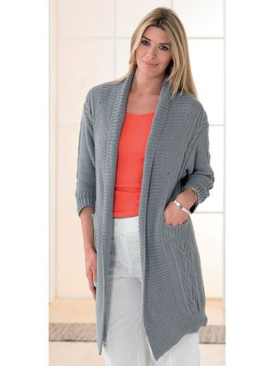 73 best Cardigan Knitting Patterns images on Pinterest | Craft ...