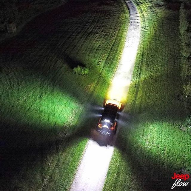 What an amazing photo from @creamsiclejk jeep using their LED light bars the right way. #jk #jeep #jeeps #JEEPFLOW