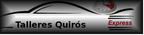 Creación de un logotipo dedicado a una empresa dedicada a la reparación de automóviles con el nombre de Talleres Quirós