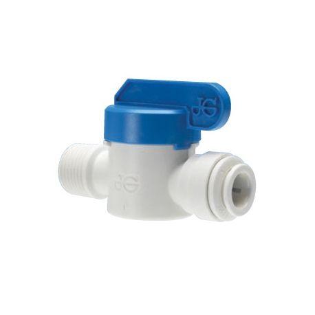 valvola filettata maschio per installazione di sistemi di trattamento acqua