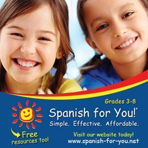 Spanish for You curriculum for elementary school, middle school and home school. #spanishfacts