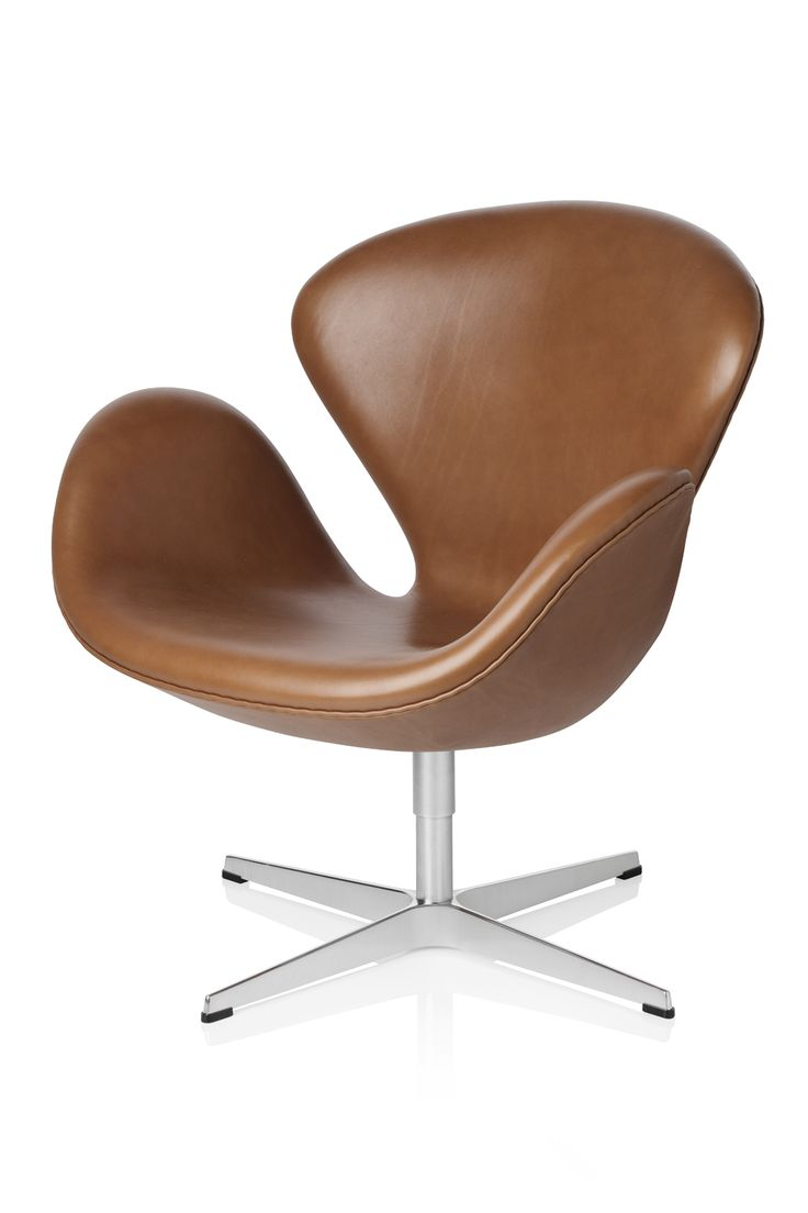 This arne jacobsen swan chair in cognac leather by fritz hansen is no - Originally Designed For The Sas Royal Hotel In Arne Jacobsen S Swan Continues To Unfold Its Wings To This Day Fritz Hansen Easy Chairs