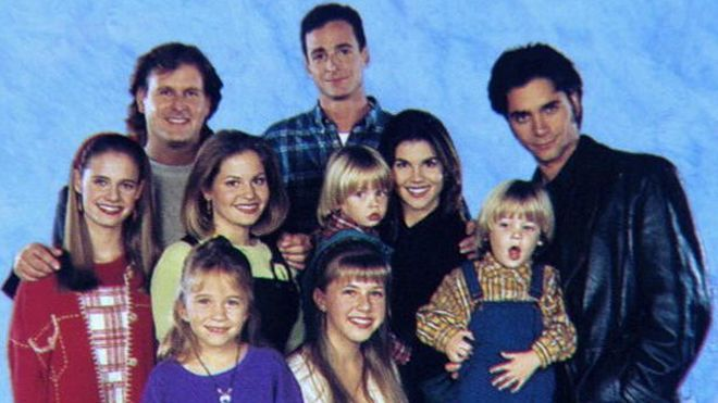 'Full House' cast reunites for Super Bowl commercial