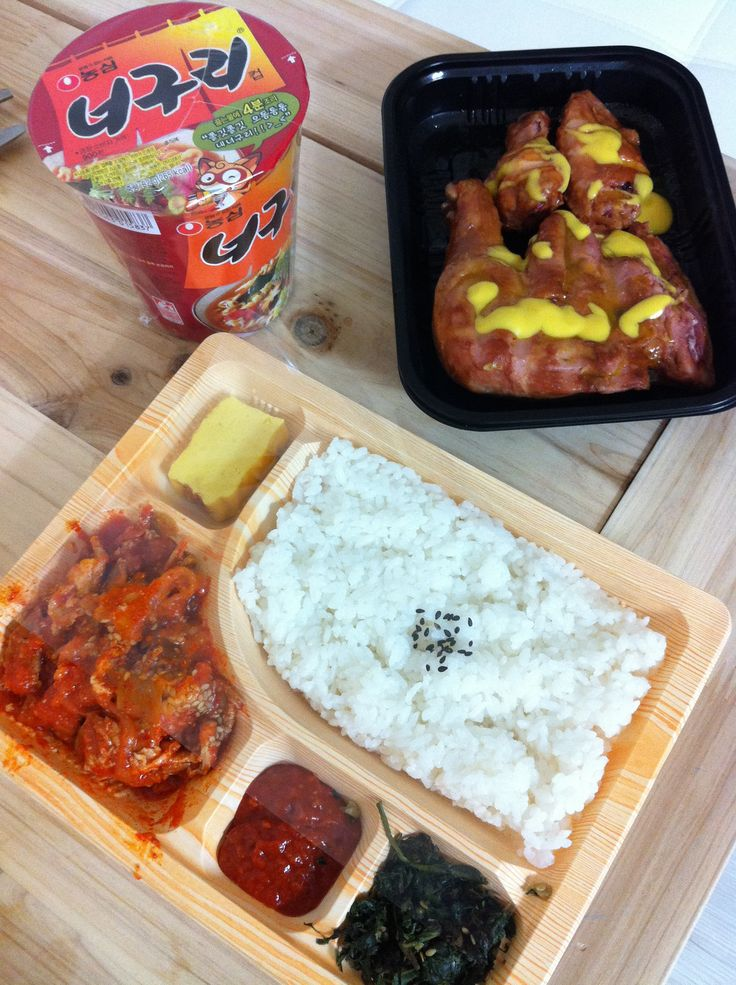 convenience store food in korea. Seoul good