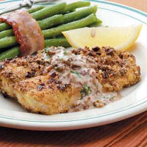 Southern Pecan Catfish Recipe - can be used with other fish.  Tilapia, trout, white fish