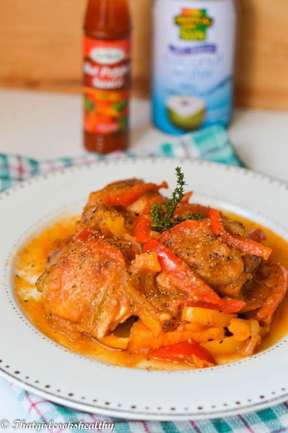Haitian Stewed Chicken