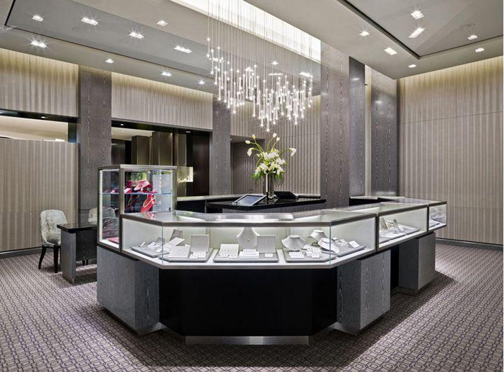 Retail Interior Design Tiffany Co Jewellery Las Vegas 02