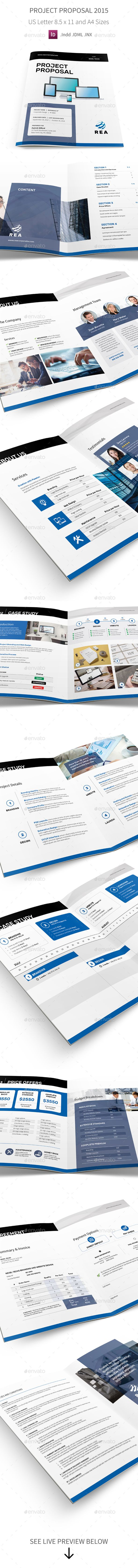 Project Proposal Template  Proposal Templates Project Proposal