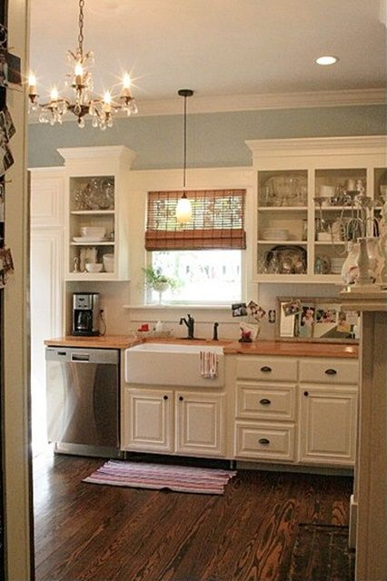 charming home tour skies of parchment small cottage kitchencottage - Small Cottage Kitchen
