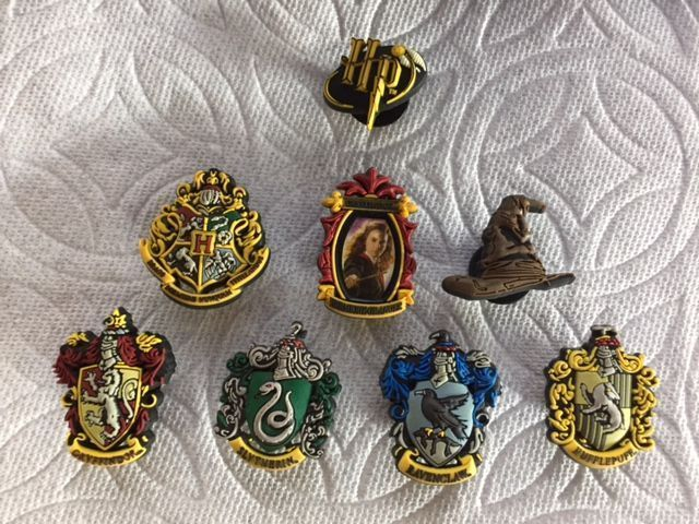 15 Pieces Silver Harry Potter Charm Collection Engraved Message Charm