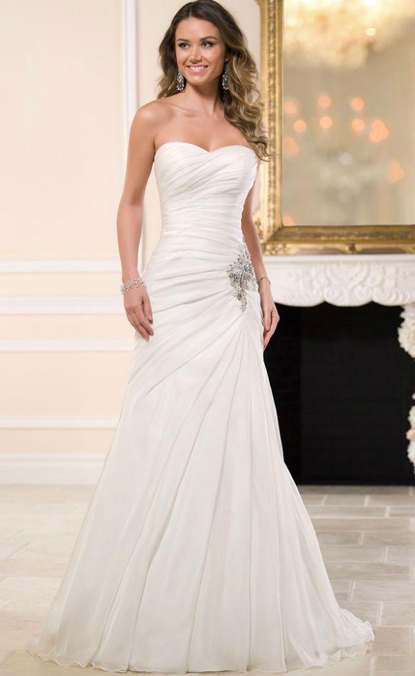 bridal dress, vestido de novia, vestido de noiva, Hochzeitskleid   Vestidos   Pinterest