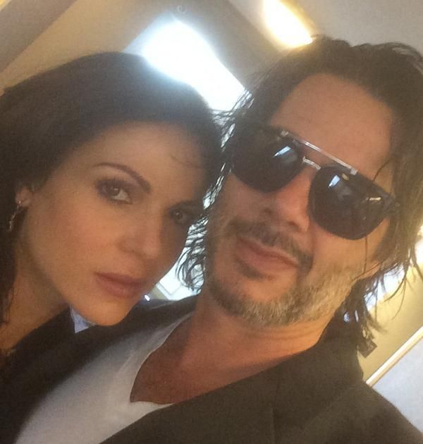 Mr & Mrs DiBlasio (Lana Parrilla & Fred DiBlasio)