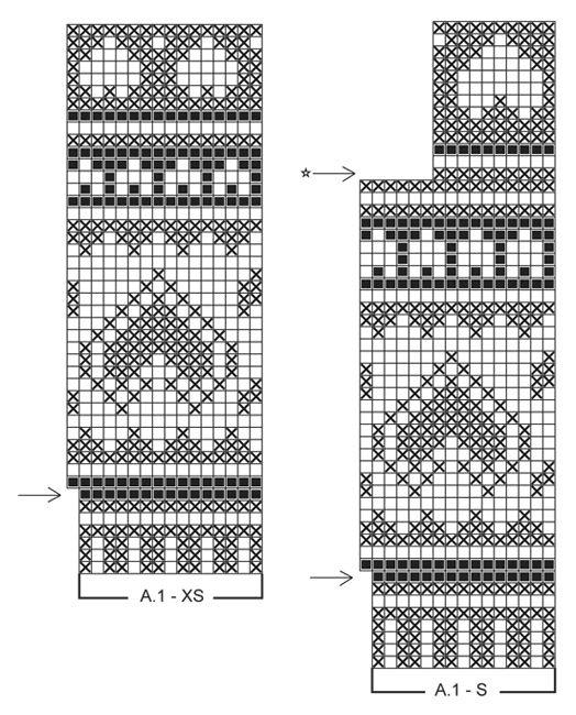 """Valentino - Koiran sydänkuvioinen DROPS pusero ystävänpäiväksi """"Karisma""""-langasta. Koot XS - L. - Free pattern by DROPS Design"""