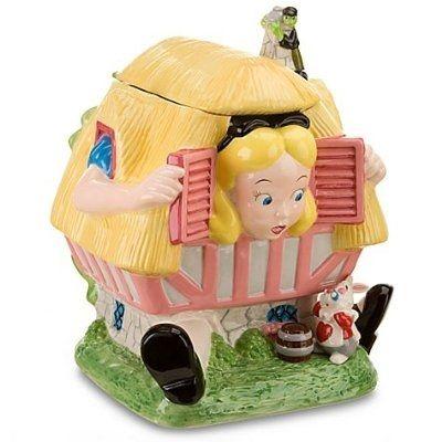 Alice in Wonderland Cookie Jar