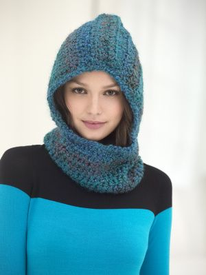 Free Knitting Pattern Hooded Neck Warmer : 25+ best ideas about Crochet hooded cowl on Pinterest ...