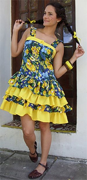 Vestidos para festa junina | Fotos e modelos « Dona Giraffa