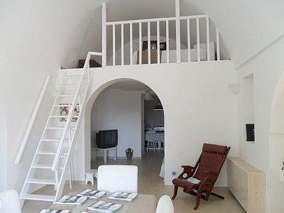 Space saving Mezzanine bedroom