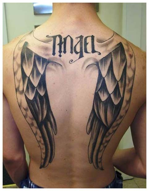 tatto para los q les gustan los tatuajes en la espalda