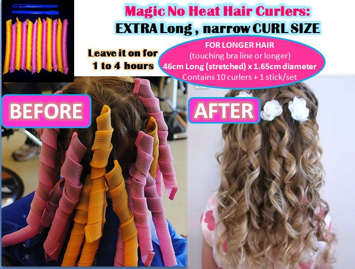 Visit our NEW WEBSITE http://www.supermodelmy.com MAGIC No Heat Hair Curlers Ever wondered how you can get super gorgeous curls ...