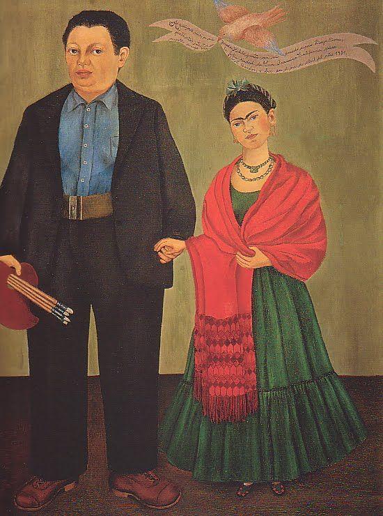 Frida Kahlo y Diego Rivera a Turquía por primera 1931.