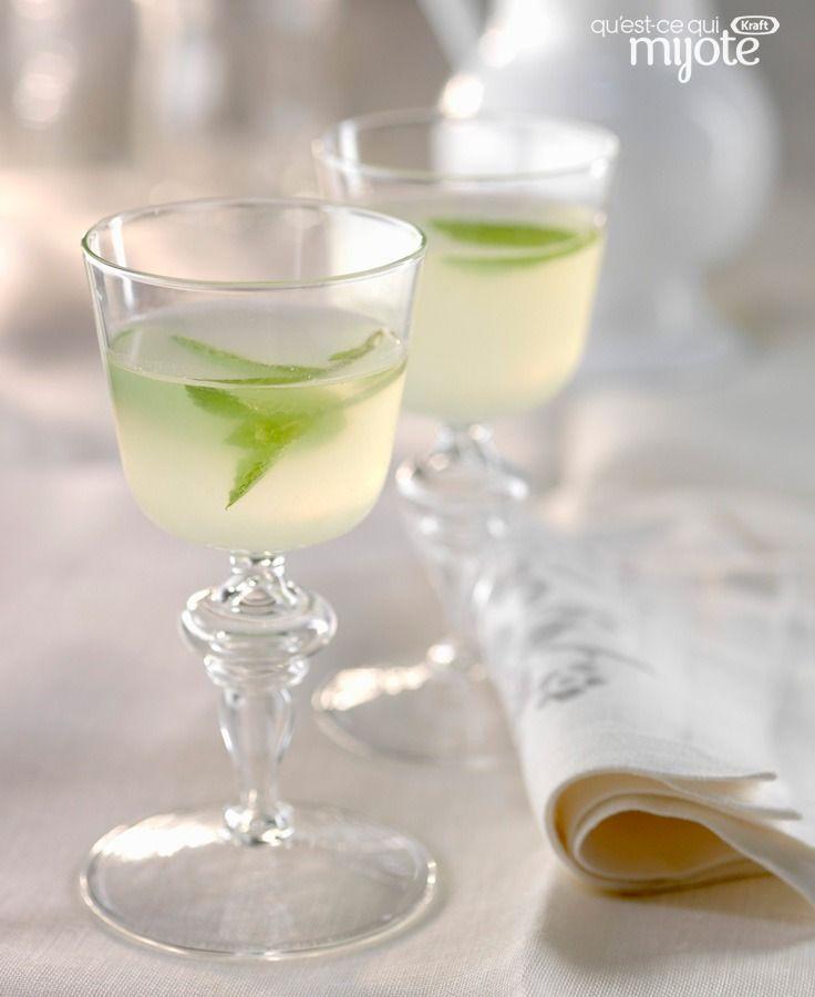 Mojito sans alcool à la limonade et au citron # recette