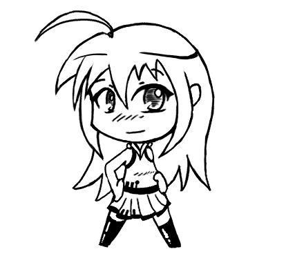 Sekai 39 s blog apprendre dessiner manga tutoriel manga dessiner un chibi avec une lettre - Manga a dessiner facile ...
