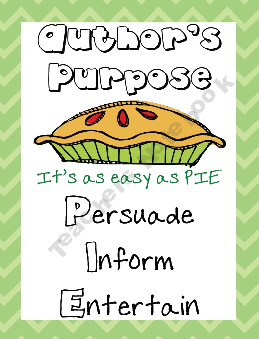 Mrs-Jacobs-Class Shop - | Teachers NotebookTeaching Resources, Author Purpose, Education Ideas, Classroom Reading, Authors Purpose, Languages Art, Persuasive Writing, Classroom Ideas, Anchors Charts