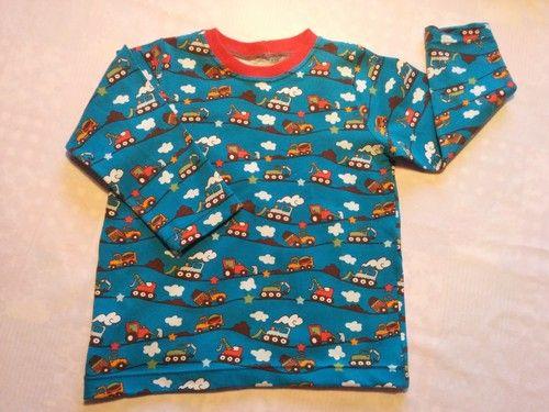 """Sy tröja till barn. Mönster från boken """"Sy barnens första garderob"""""""