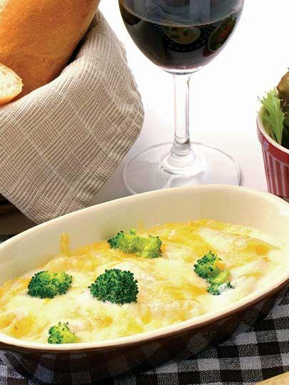 Fırında peynirli brokoli Tarifi - Diyet Yemekleri Yemekleri - Yemek Tarifleri