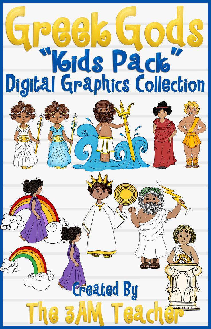 Uncategorized Pictures Of Greek Gods For Kids 14 best work greek mythology images on pinterest gods kids pack clip art