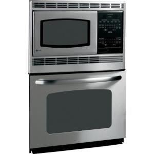 Electric Wall Oven With Built In Microwave Stainless Steel Jtp90spss