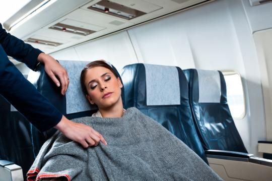 Sleeping on an airplane can be a challenge, but you can rest easy — we have some tips for you from our aerial experts!