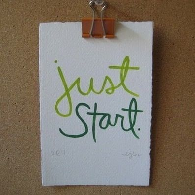 Just start! tips on how to get started & achieve your fitness goals    http://taraburner.com/health-wellness/wellness-wednesday-just-start.php #fitfluential #fitness