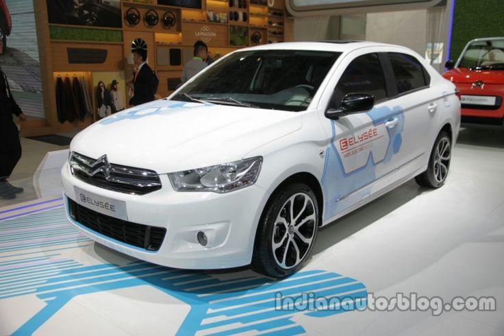 #Citroen E-Elysee – 2016 #AutoChina Live