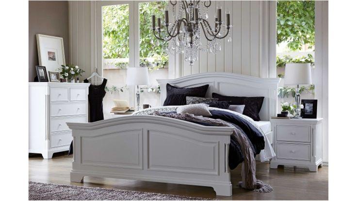 Riviera Queen Bed - Beds & Suites - Bedroom - Beds & Manchester | Harvey Norman Australia