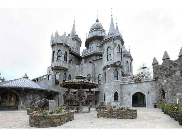 Castle Home For Sale - Multimillion Dollar Castle In Connecticut - House Beautiful