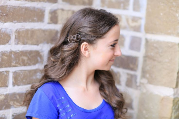 Sides-Up Slide-Up Hairstyle | Cute Girls Hairstyles