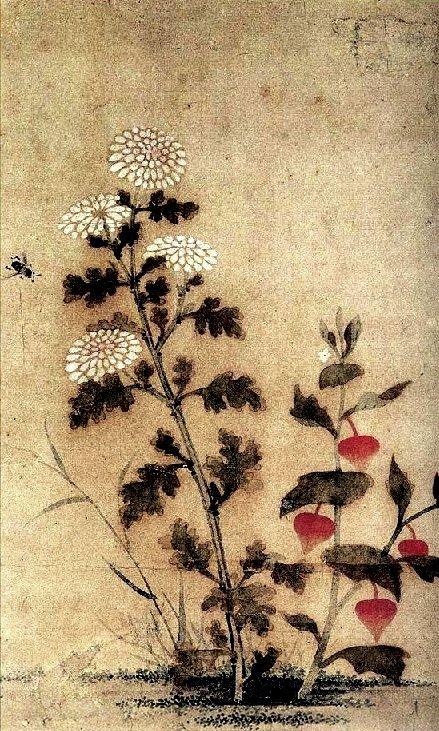 (Korea) by Lady Shin Saimdang (1504-1551). ca 16th century CE.
