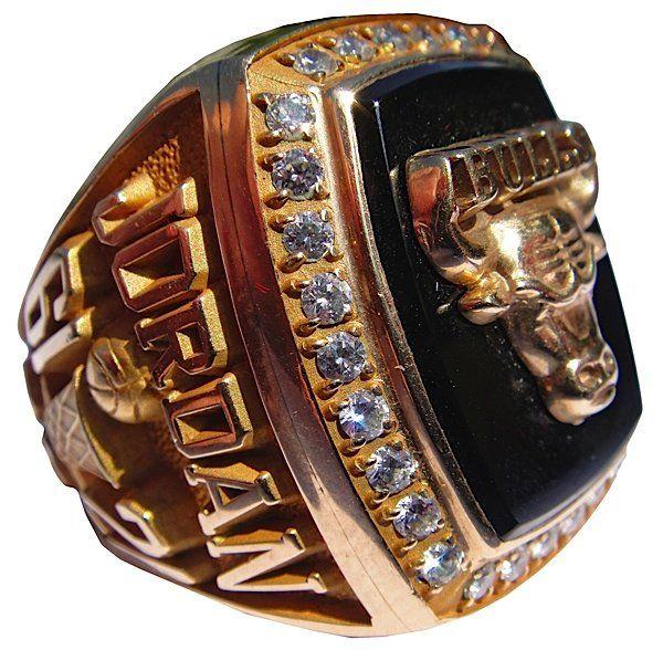 1991 Michael Jordan Chicago Bulls Championship Ring (Sa : Lot 171
