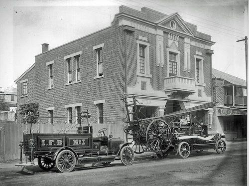 Ipswich Fire Station, Brisbane Street, Ipswich, 1920