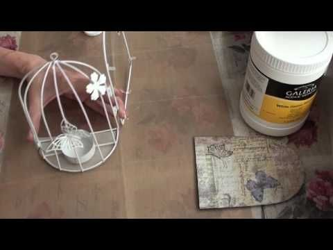 Tutorial - Butterfly Cage Part 1 (real time)