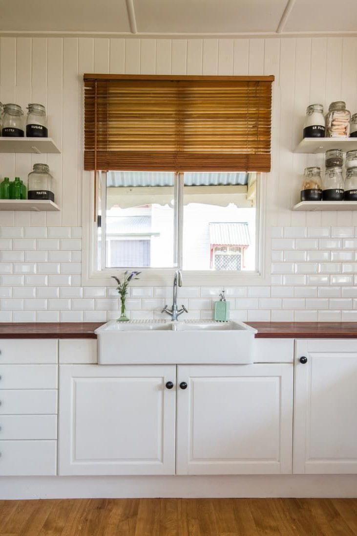 No window kitchen sink  kitchen design ideas   red and white kitchen decor  home decor