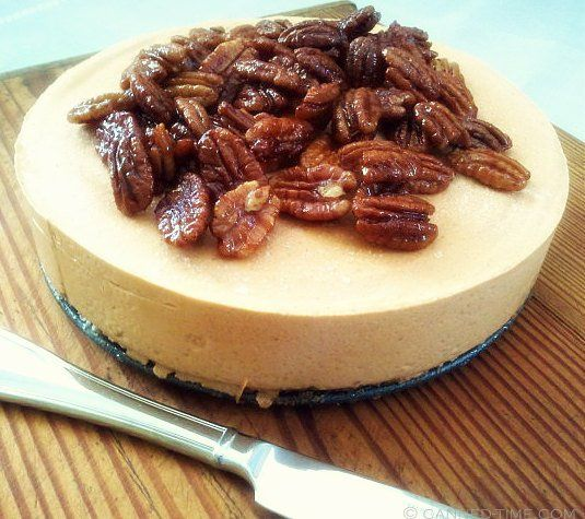 Sweet Potato Cheesecake Recipe — Dishmaps